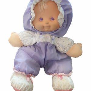 1990 Puffalump Fisher Price Heidi Doll purple